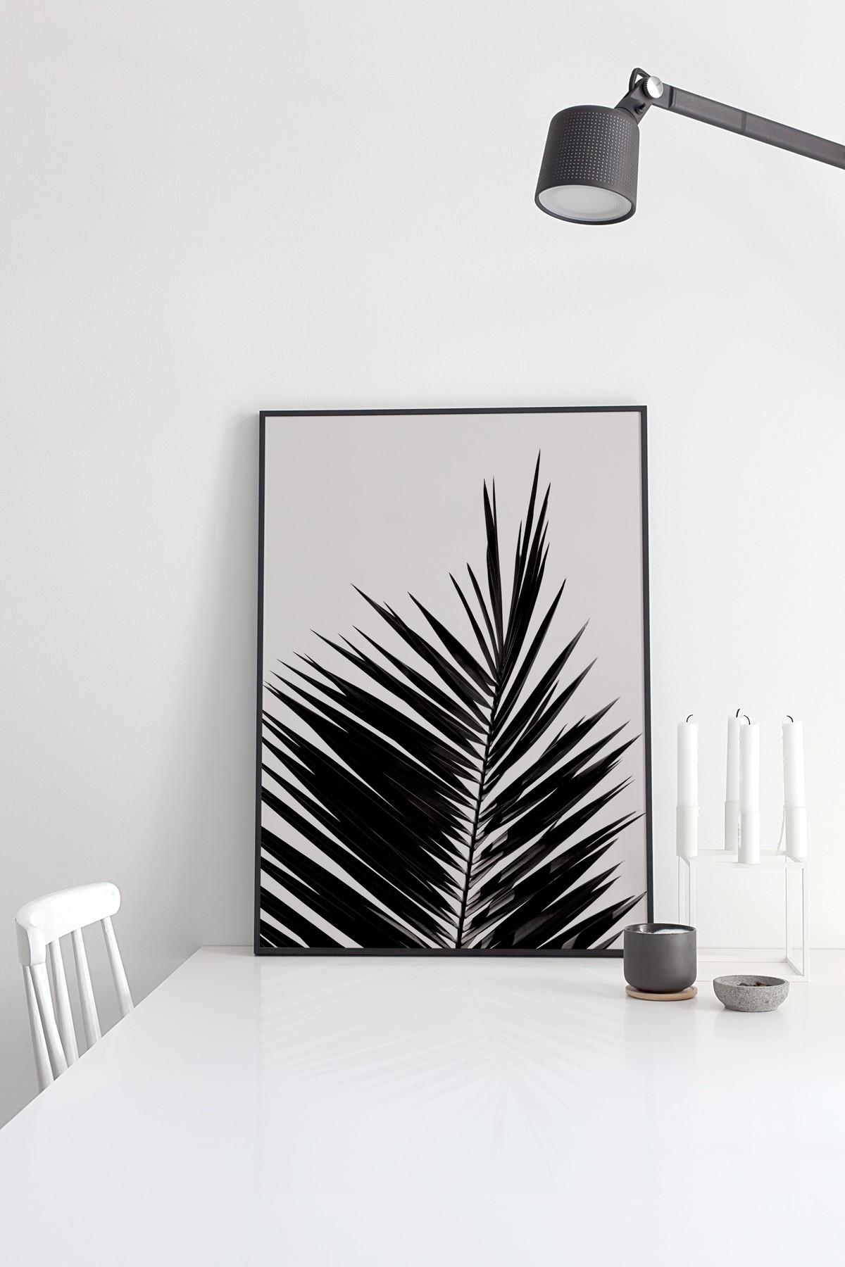 coco lapine design palm leaf print. Black Bedroom Furniture Sets. Home Design Ideas