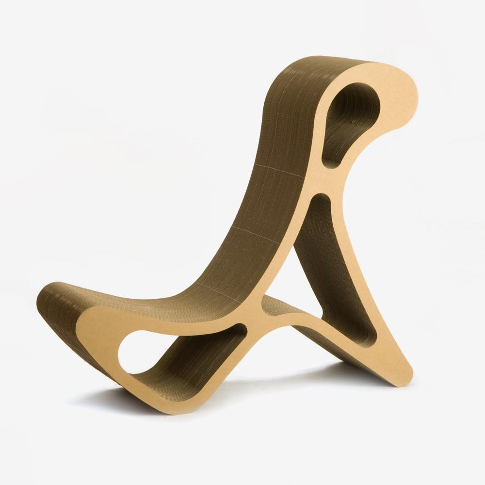 diefabrik chair777 stuhl aus wellpappe. Black Bedroom Furniture Sets. Home Design Ideas