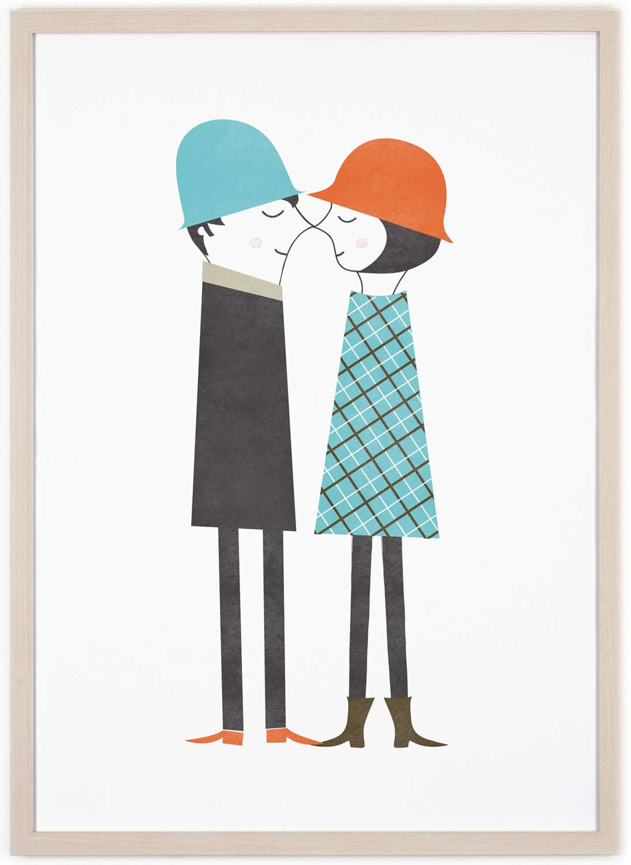 human empire couple poster 50x70cm. Black Bedroom Furniture Sets. Home Design Ideas