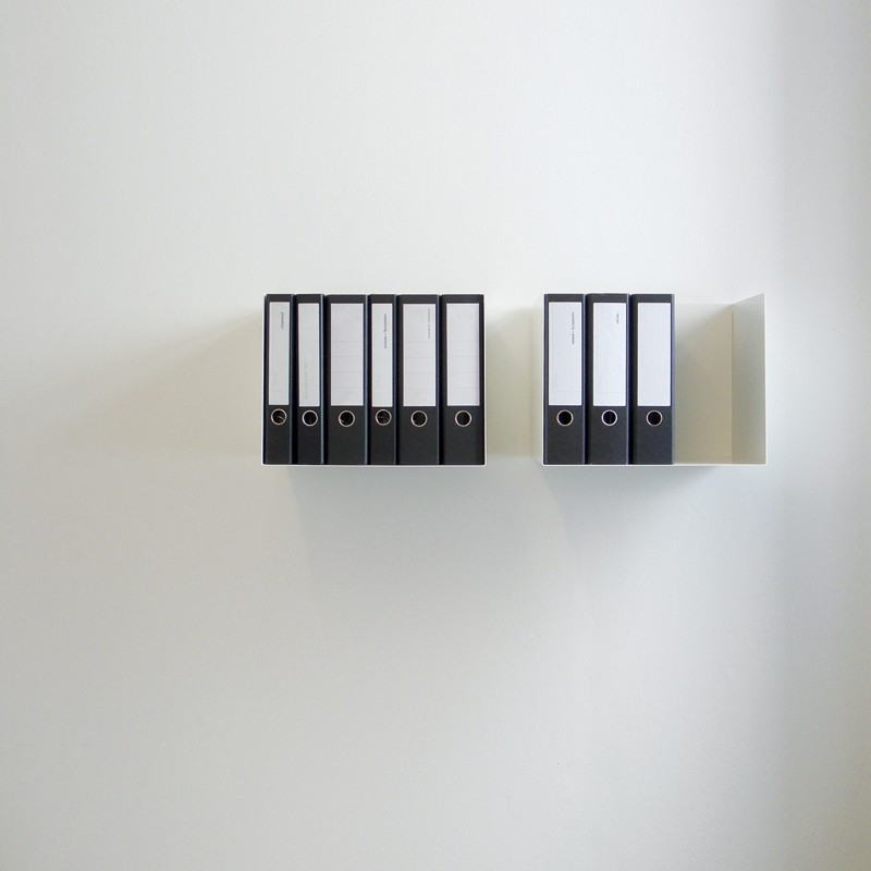 linea1 c aktenordner regal. Black Bedroom Furniture Sets. Home Design Ideas