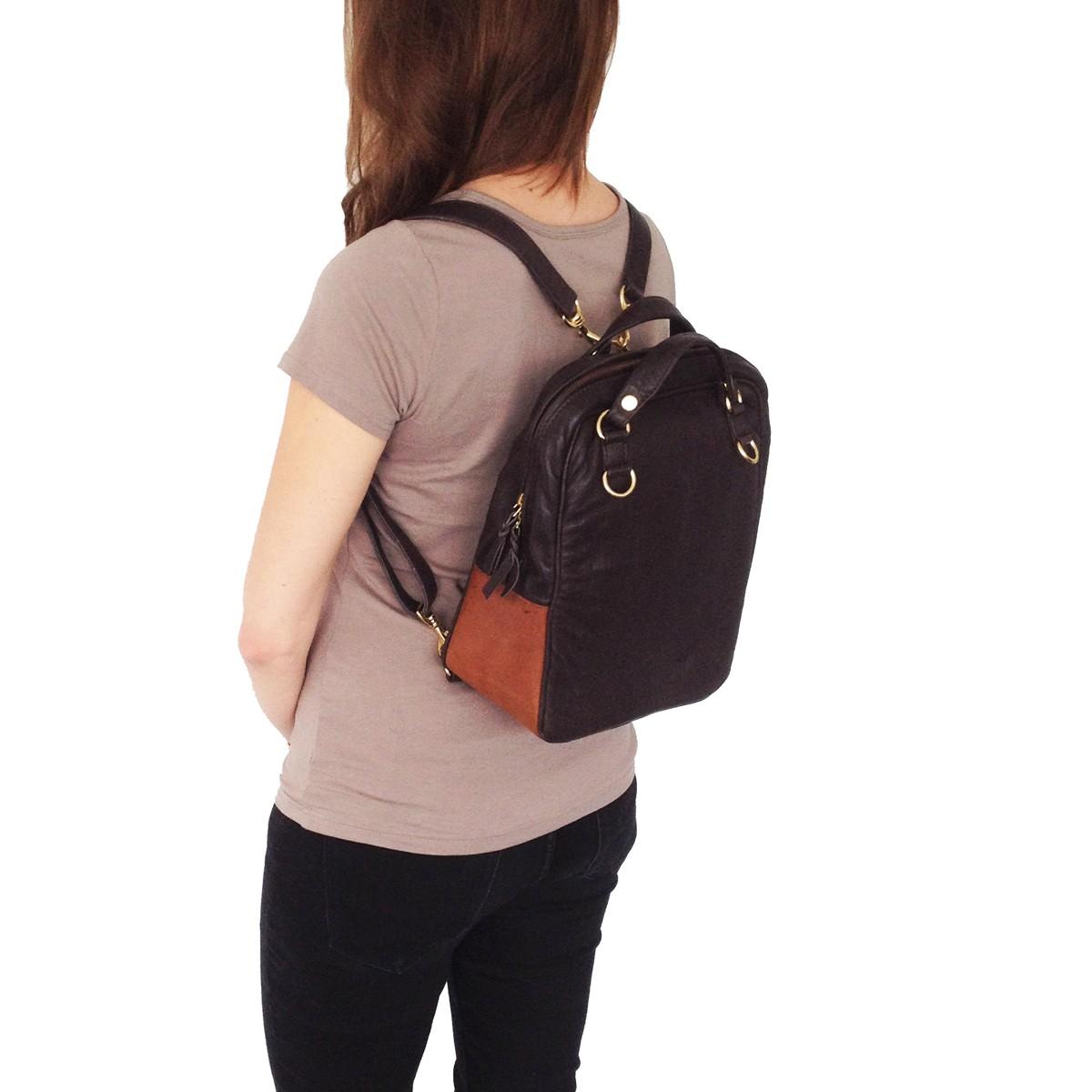 StockhausenDesign Rucksack - Tasche aus Leder   selekkt.com