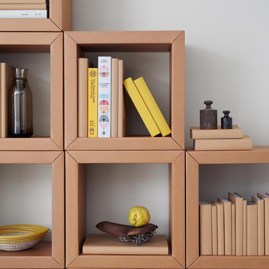 stange design regal element 4 quadrate. Black Bedroom Furniture Sets. Home Design Ideas