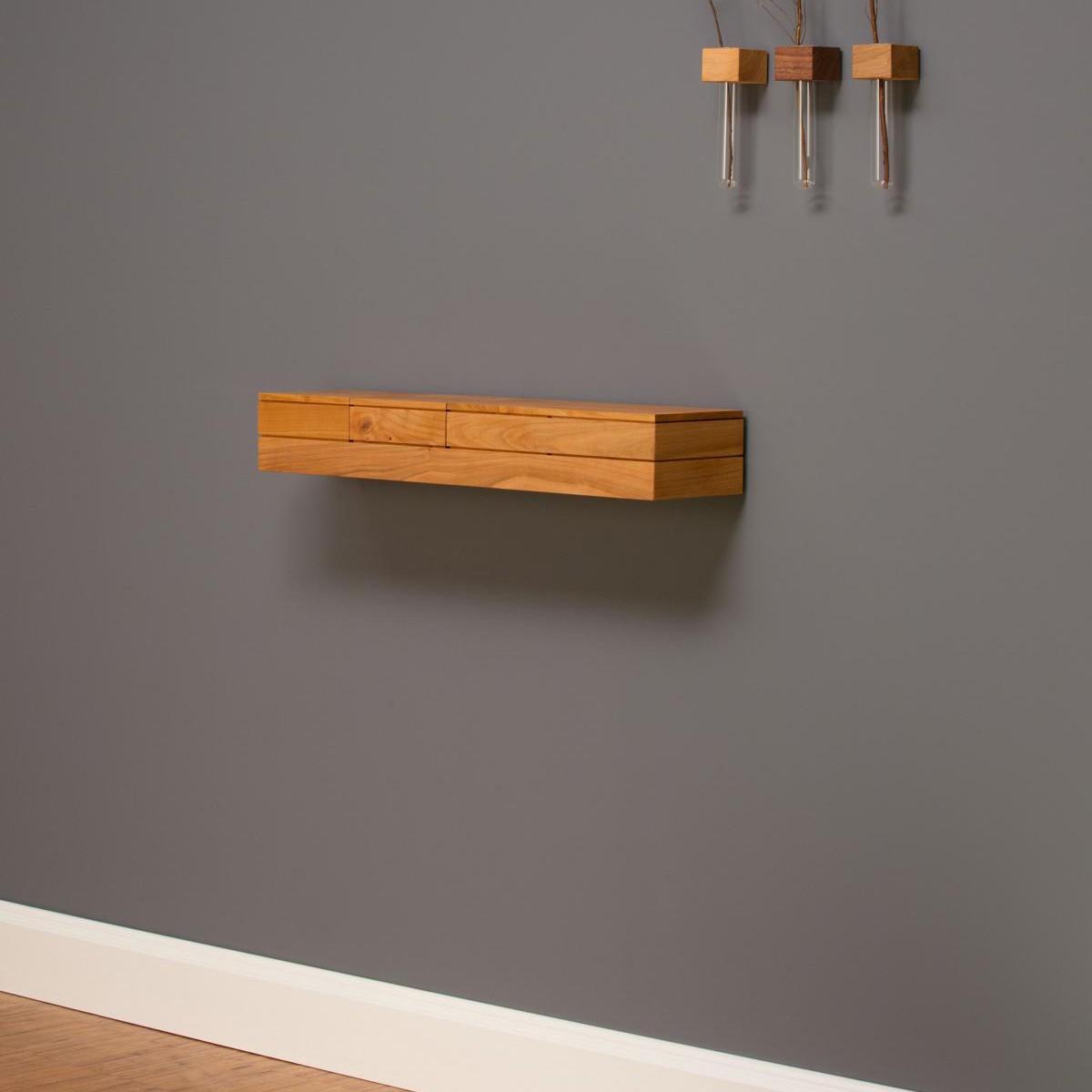 wandkonsole k2 in kirschbaum von jack lucy. Black Bedroom Furniture Sets. Home Design Ideas