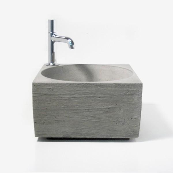 handwaschbecken aus beton von wertwerke. Black Bedroom Furniture Sets. Home Design Ideas