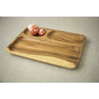 Holz Teller, Tablett, handgefertigte Sushiplatte BY COPALA