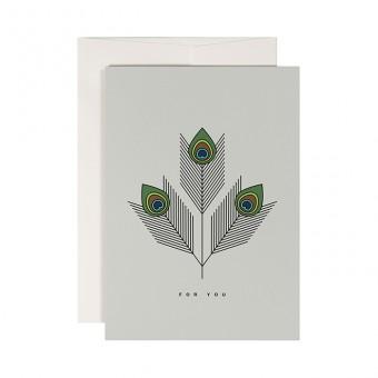 redfries trinity –Klappkarte DIN A6 mit Umschlag