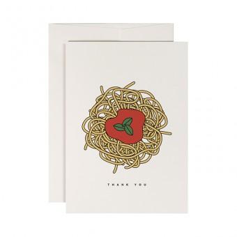 redfries napoletana –Klappkarte DIN A6 mit Umschlag