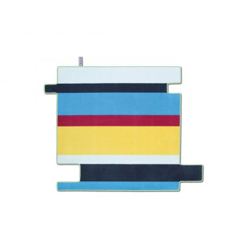 FLAT´N - FLYING STRIPES Teppich (150 x 150 cm)