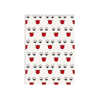 redfries tongue show nbp –Notizheft DIN A6