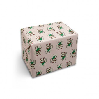 redfries wrap lucky charm – Geschenkpapier DIN B2, 3 Bögen