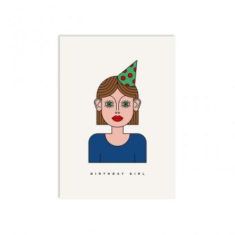 redfries ninna – Postkarte DIN A6