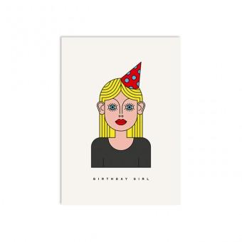 redfries vivi –Postkarte DIN A6