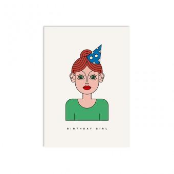 redfries lis – Postkarte DIN A6