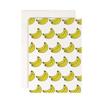 redfries monkeys dessert – Klappkarte DIN A6 mit Umschlag