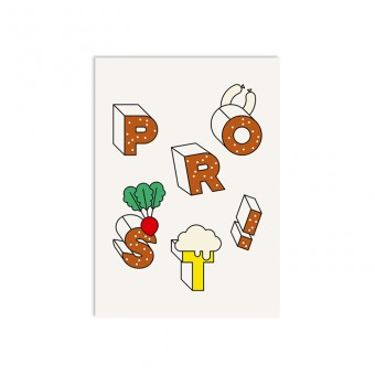redfries prost – Postkarte DIN A6
