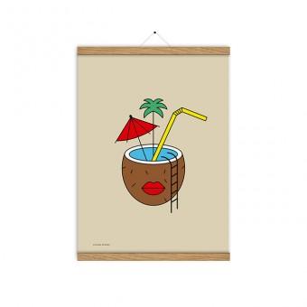 redfries coconut dreams a3 – Kunstdruck DIN A3