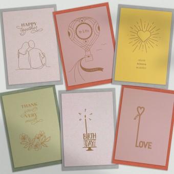 Feingeladen / Kartenbox Happy Times / No 2
