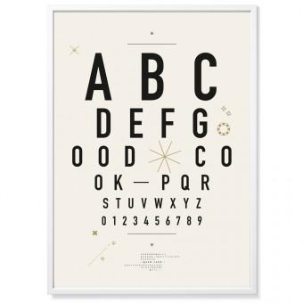 TYPE HYPE Poster DIN Alphabet (50 x 70 cm)