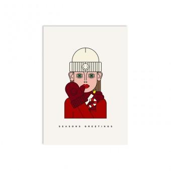 redfries edda – Postkarte DIN A6