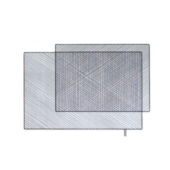 FLAT´N - SCRIBBLED 001 Teppich (170 x 250 cm)