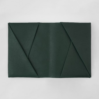 VANOOK Bi-Fold Card Case Large / Malachite