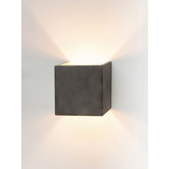 GANTlights [B3]dark Wandlampe quadratisch
