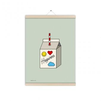 redfries happiness juice a3 – Kunstdruck DIN A3