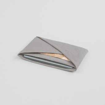 VANOOK Card Case Horizontal / Stone