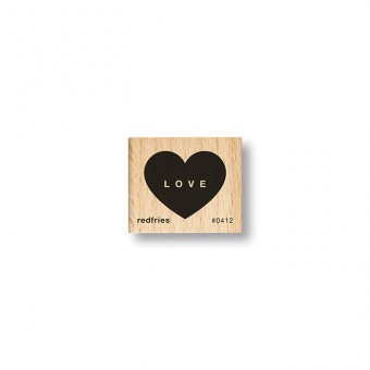 redfries stamp love candy – Stempel