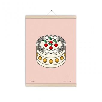 redfries cream pie a3 – Kunstdruck DIN A3