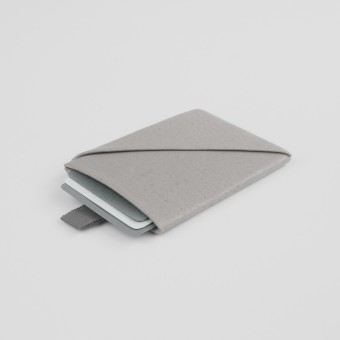 VANOOK Card Case Vertical / Stone