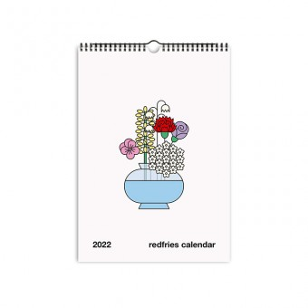 redfries essential 2022 – Monatskalender A4