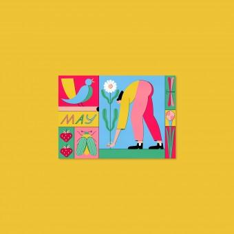 Anne Albert – May – Postkarte (A6)