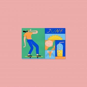 Anne Albert – June – Postkarte (A6)
