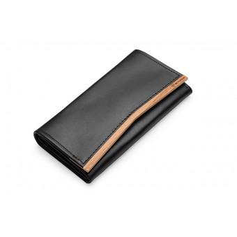 BeWooden - Frauen Lederportemonnaies mit Holzdetail - Api Women Wallet