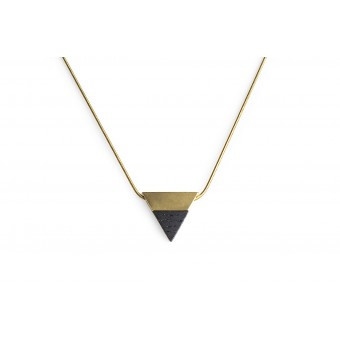 Halskette Vespa Necklace Triangle von BeWooden