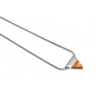 BeWooden - Halskette mit Holzdetails - Lini Necklace Triangle