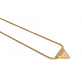 BeWooden - Halskette mit dreieckigem Anhänger - Virie Necklace Triangle