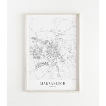 MARRAKESCH Print im skandinavischen Stil von Skanemarie