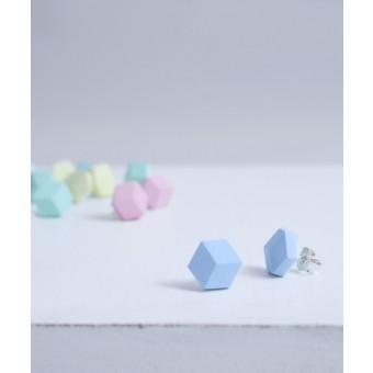 """Pictofactum Ohrstecker """"Purismus"""" Keramik Pastell"""