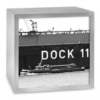 COGNOSCO Leuchtkasten - 37 x 37 cm: Dock 11 Hamburg