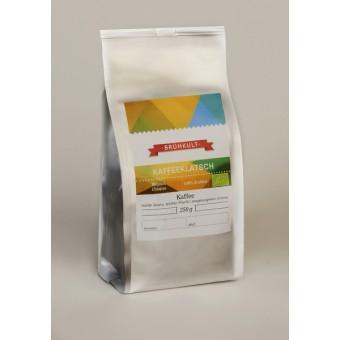 "BRÜHKULT-Kaffee ""Kaffeeklatsch"" (Bio) 250g (ganze Bohne)"