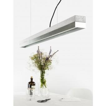 GANTlights - [C1]zinc Pendelleuchte Beton Zinkblech minimalistisch