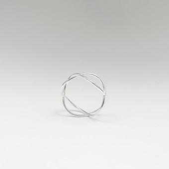 Jonathan Radetz Jewellery, Ring TIMESTWO, Silber 925