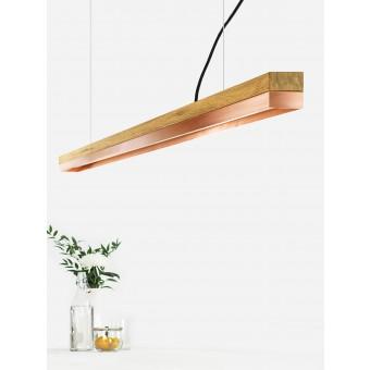 GANTlights [C3o]copper Pendelleuchte Kupfer lang