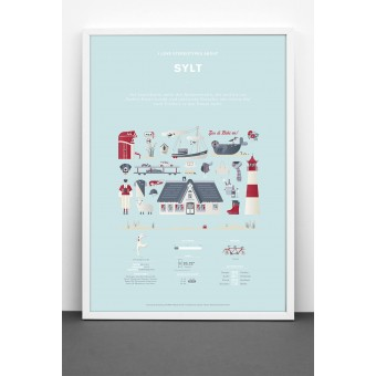 Bureau Bald Sylt Plakat (Sonderedition/limitierte Auflage)