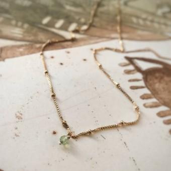 Ida Ping Jewelry // FLOW NECKLACE • PERIDOT