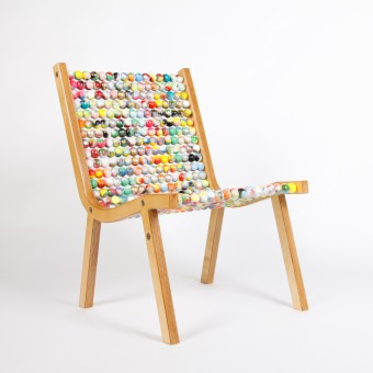 Atelier Fesseler o432 Lounge Chair Edition 1 Painted by Ruprecht Dreher