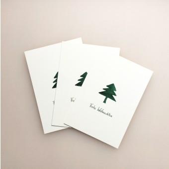 Hanne Gutbrod Postkarte Weihnachten (5er-Pack)