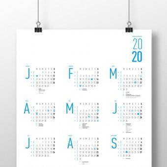 Sarifa – Wandkalender 2020
